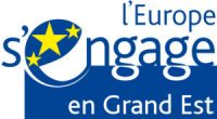 Logo de l'Europe s'engage en Grand-Est.